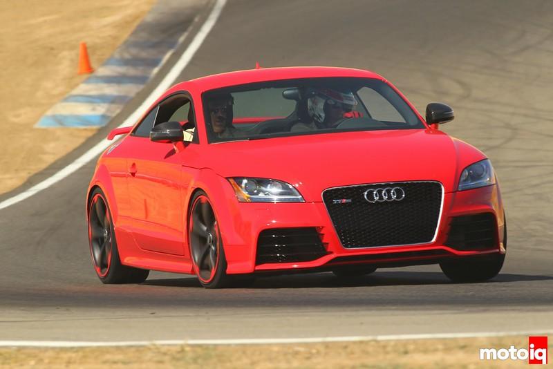 Audi TT RS track
