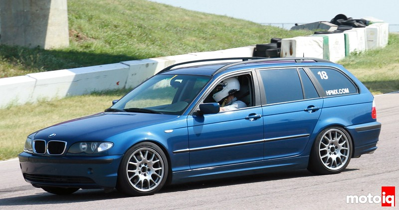 E46 325it ASTs on track