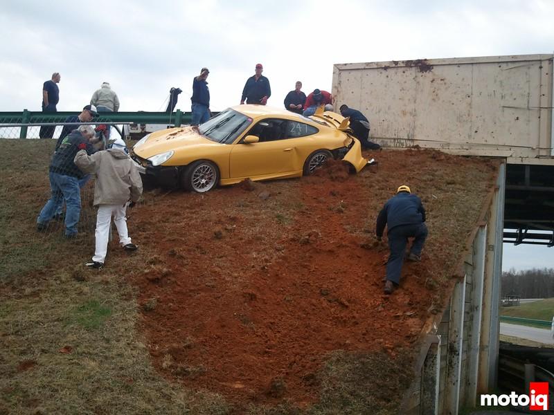 996 GT3 wreck