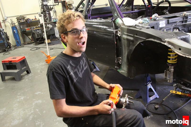 A Preview of Matt Powers Formula D 2011 Rebuild