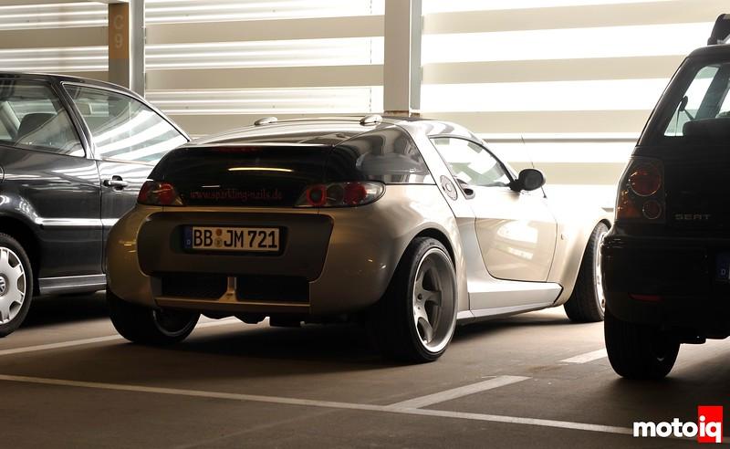 Sporty Smart Car