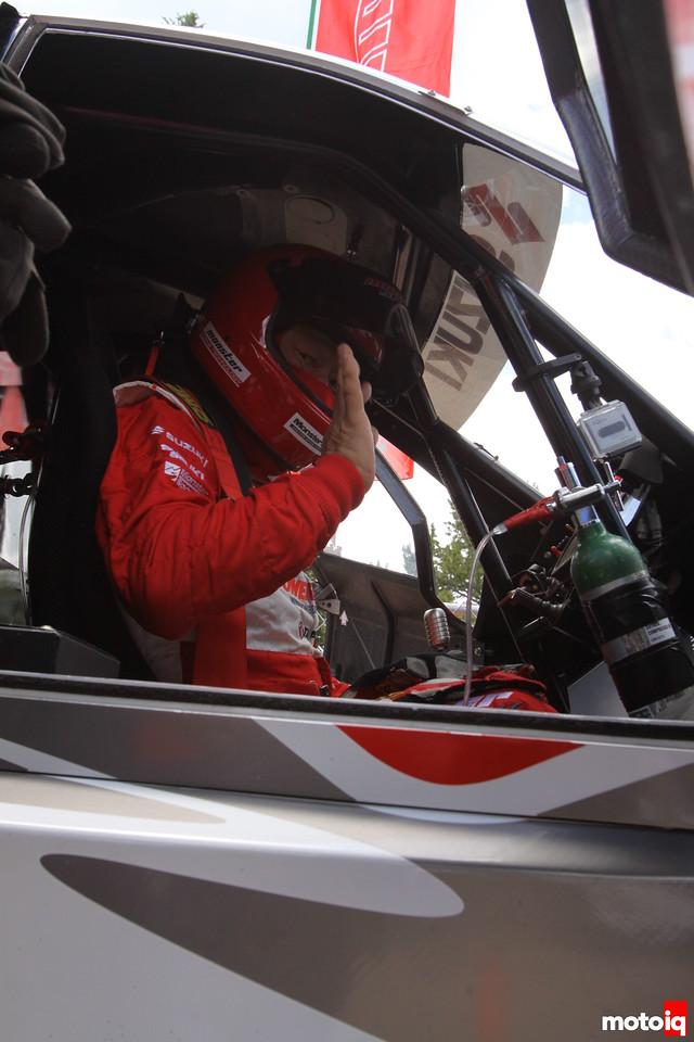 Nobuhiro Tajima Suzuki Pikes Peak winning racecar