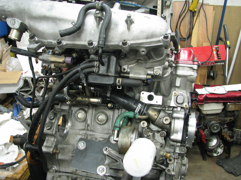 silicone tubing was installed on the engine when it was pulled two years  ago for a rebuild  i wouldn't want to consider replacing them in the car