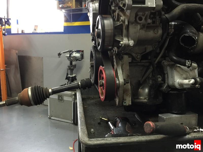 ac pump removal