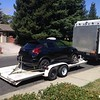 loaded up for the journey to northern california hoops hill climb