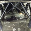 cage build before rear floor reinforcement just incase we go AWD or RWD