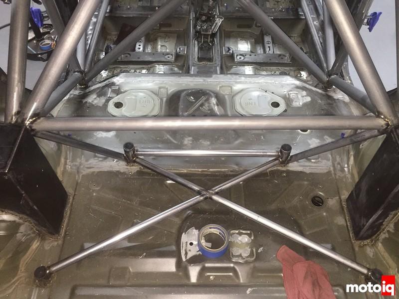 cage build rear floor done