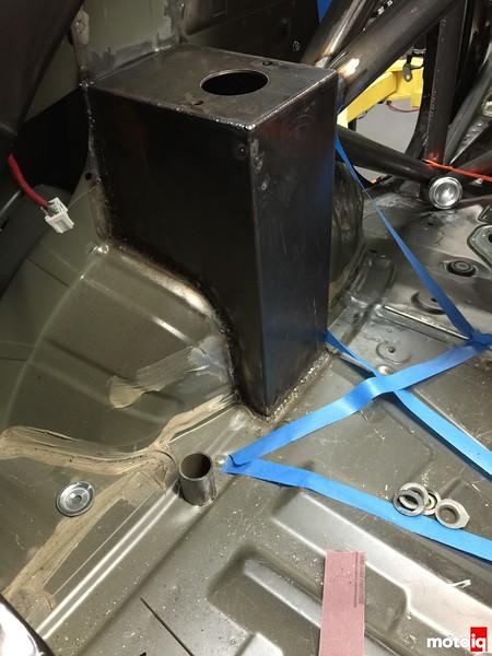 cage build rear floor