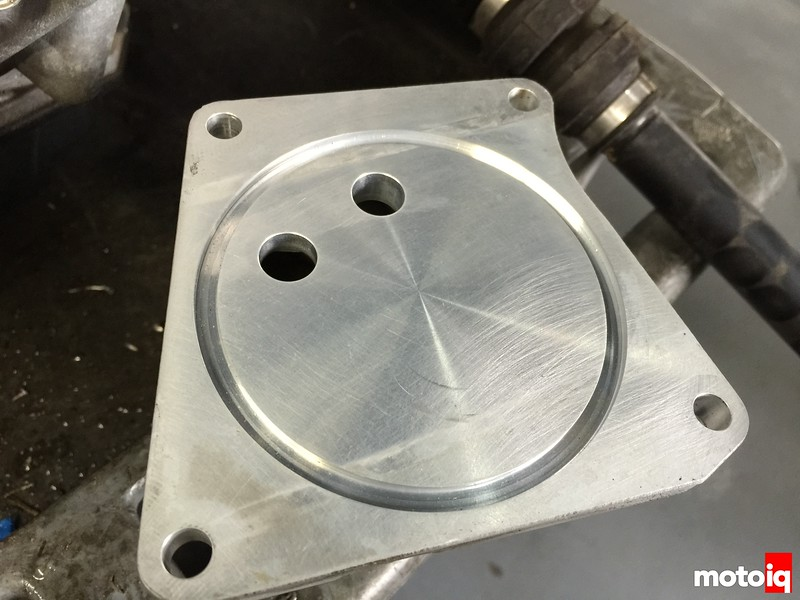 trans cooler plate construction