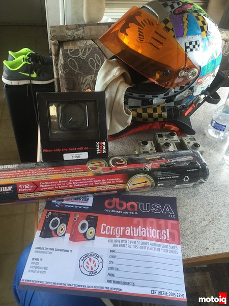 look what I got for participating , torque wrench, stack gauge and a pair dab rotors! thanks USTCC!
