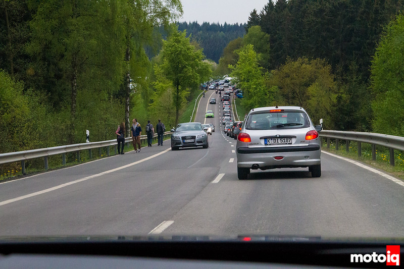 Nurburgring traffic