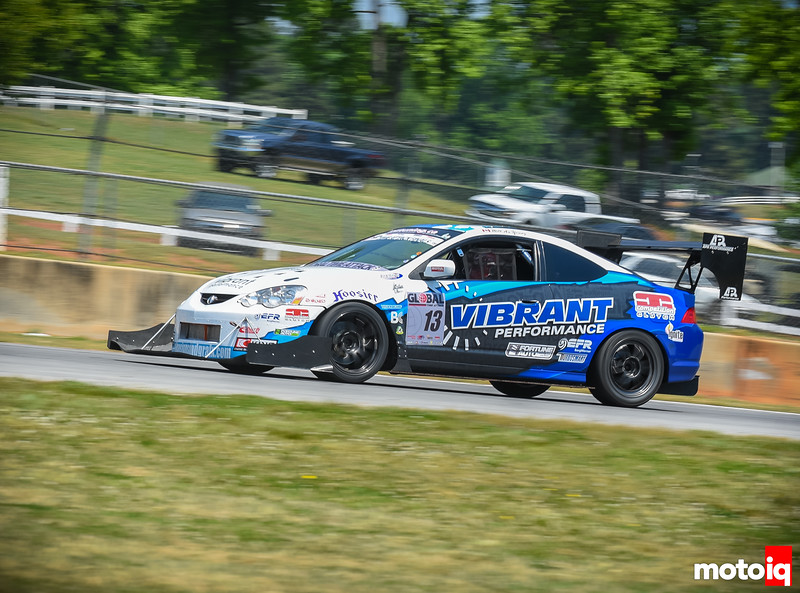 PZtuning's RSX on track at Road Atlanta