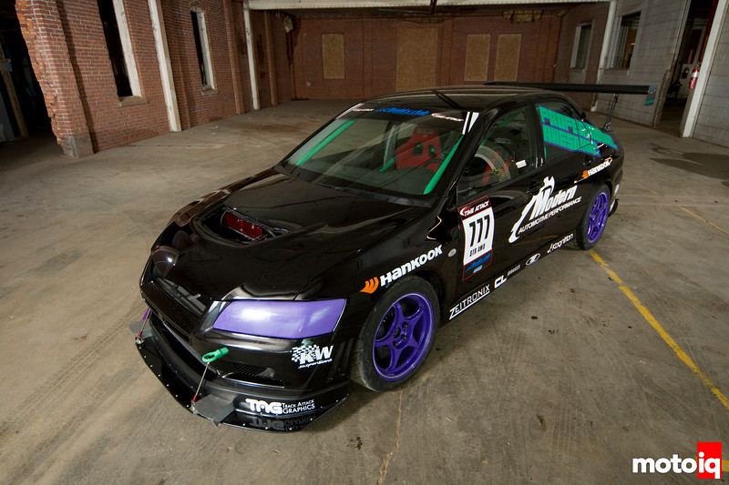 Professionally Awesome- A look inside Professional Awesome's EVO VIII Street Class Time Attack Challenger