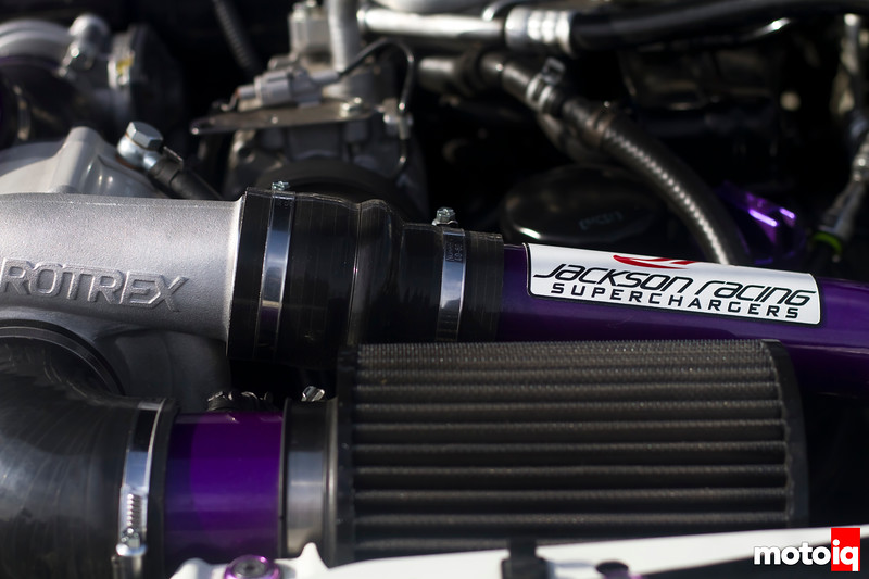 Purple in Motion - Jackson Racing Supercharged Scion FR-S