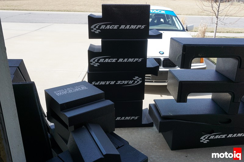 Race Ramps Portable Pit Stop unloaded