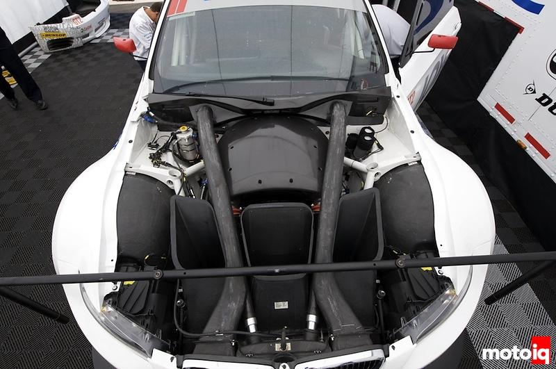 BMW ALMS GT2 M3 Engine