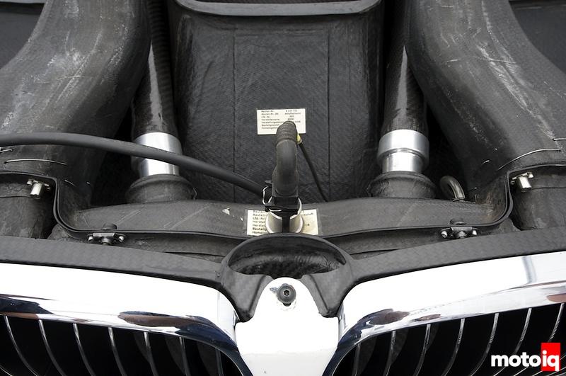 ALMS BMW M3 inlet restrictor