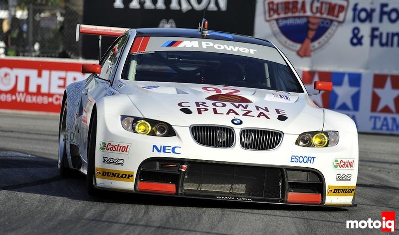 Rahal Letterman BMW 3 ALMS GT racer