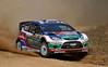 Jari-Matti Latvala (FIN) / Miikka Anttila - Ford Fiesta RS WRC. Shakedown, 2011 Rally Australia