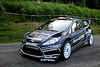 Ford Abu Dhabi World Rally Team's Fiesta RS World Rally Car displays it's new test livery in France