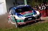 Mikko Hirvonen (FIN) / Jarmo Lehtinen - Ford Fiesta RS WRC. Day two, 2011 Rally Australia