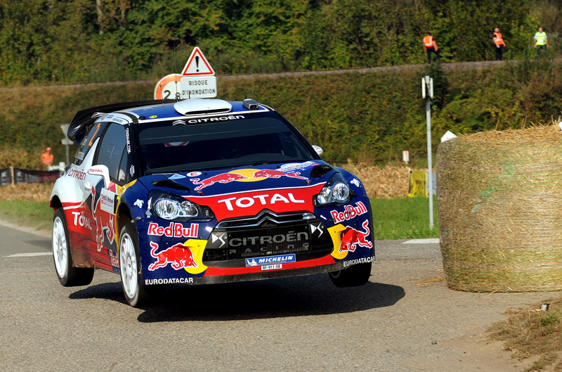 Sebastien Ogier during day 3, Rallye de France 2011-09-30
