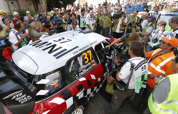 MINI WRC Team, Rallye de France (FRA) 02.10.2011, Dani Sordo. This image is Copyright free for editorial use © BMW AG (10/2011)