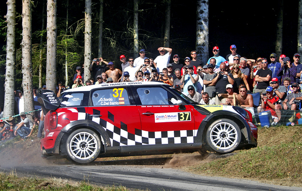 MINI WRC Team, Rallye de France (FRA) 30.09.2011, Dani Sordo. This image is Copyright free for editorial use © BMW AG (09/2011)
