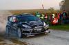Jari-Matti Latvala (FIN) / Miikka Anttila - Ford Fiesta RS WRC. Day one, 2011 Rallye de France
