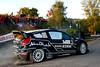 Mikko Hirvonen (FIN) / Jarmo Lehtinen - Ford Fiesta RS WRC. Day one, 2011 Rallye de France