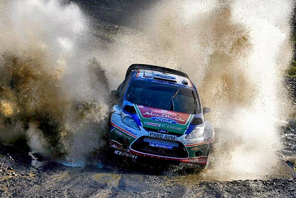 Jari-Matti Latvala (FIN) / Miikka Anttila - Ford Fiesta RS WRC. Day three, 2011 Wales Rally GB