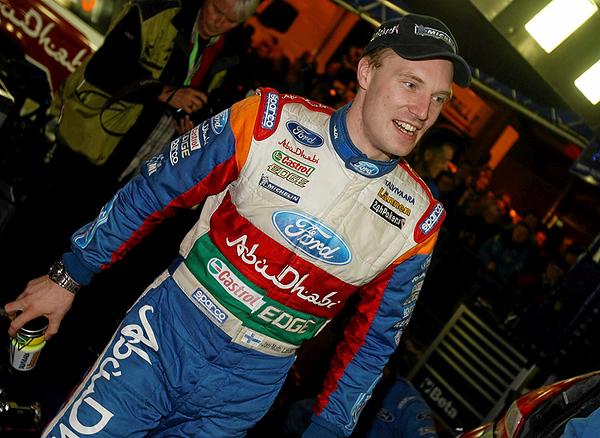 Jari-Matti Latvala (FIN) - Ford Fiesta RS WRC. Day three service, 2011 Wales Rally GB