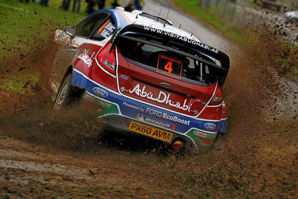 Jari-Matti Latvala (FIN) / Miikka Anttila - Ford Fiesta RS WRC. Shakedown, 2011 Wales Rally GB