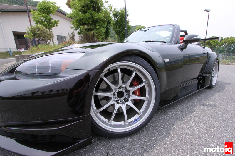 Stillway S2000: Volk CE28N, Brembo 4-pot big rotor kit.