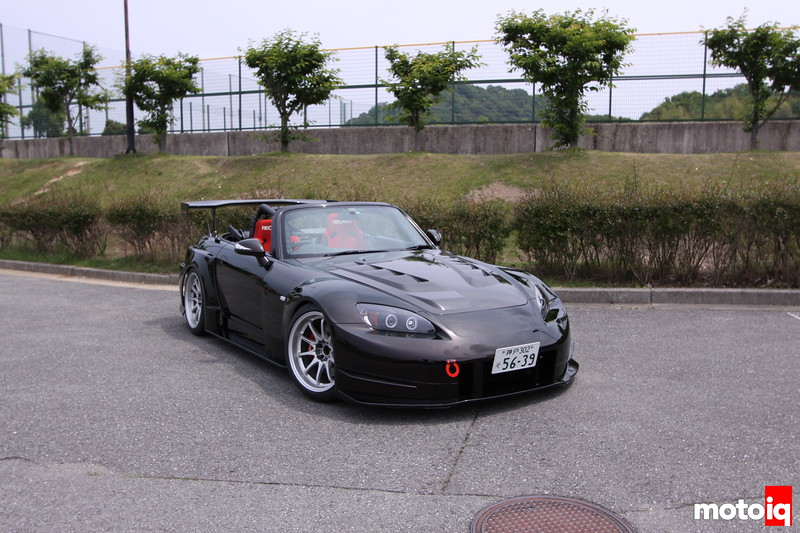 Stillway S2000: Right Front - Bride Racing seats.