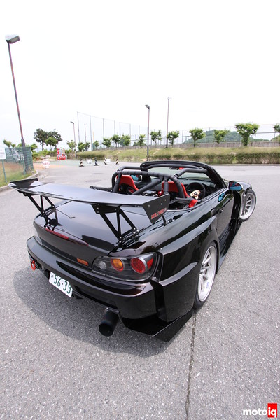 Stillway S2000: Another view of the GT Wing.