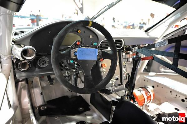 GMG Racing StopTech Porsche 911 GT3 interior