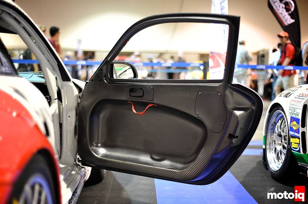 GMG Racing StopTech Porsche 911 GT3 carbon fiber doors and skins