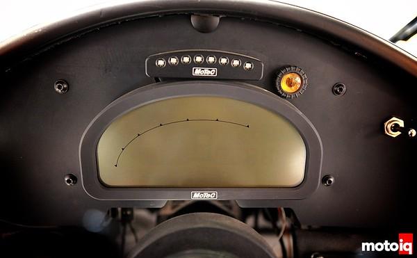 GMG Racing StopTech Porsche 911 GT3 Motec ADL2 MFD dash display gauges