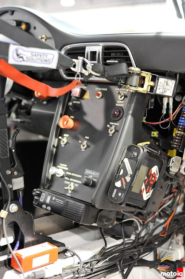 GMG Racing StopTech Porsche 911 GT3 dash panel