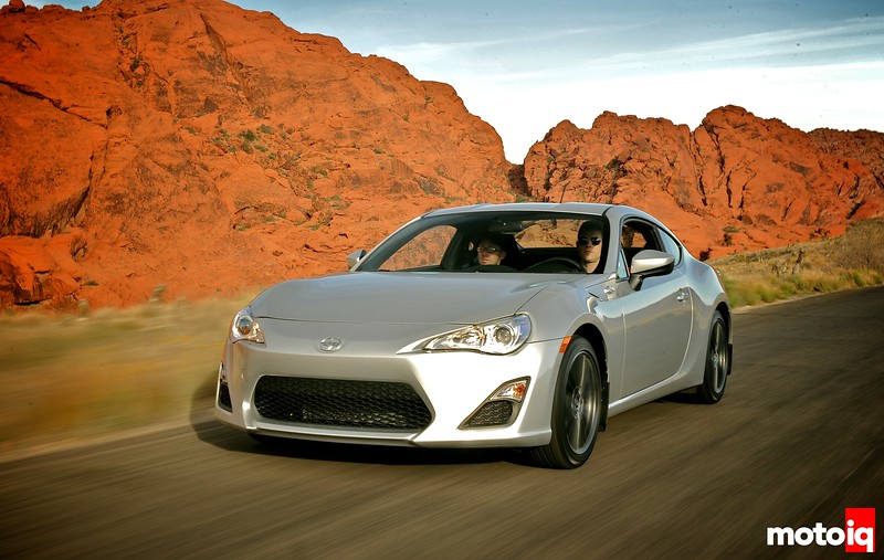 Scion FR-S Tested front view