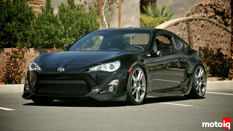 This is Jack Hollis' (Scion EVP) personal FR-S with the five axis body kit and wheels..  looks sweet!