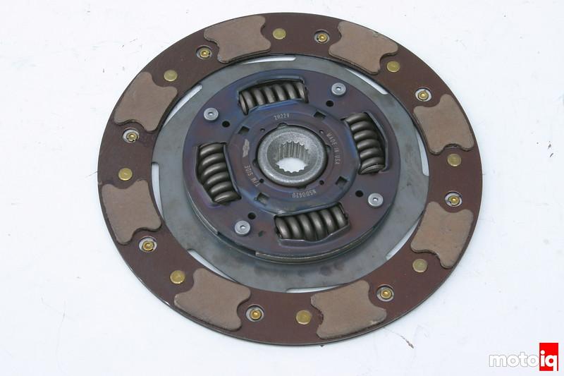 JWT clutch disc
