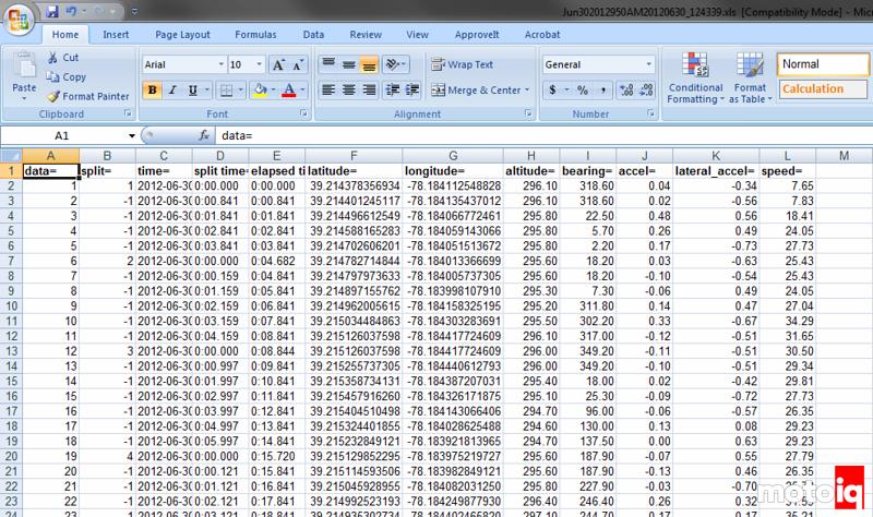 Trackaroo Trackmaster Data