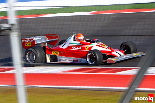 USGP united states grand prix Historic GP niki lauda ferrari 312