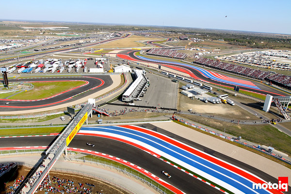 view from observation tower US Grand Prix austin texas united states GP
