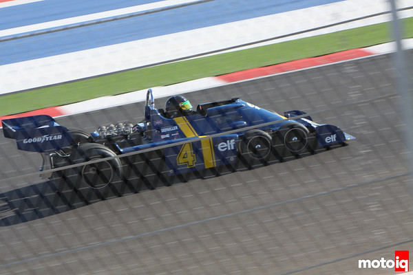 Patrick Depailler six-wheel F1 car Tyrrell USGP united states grand prix