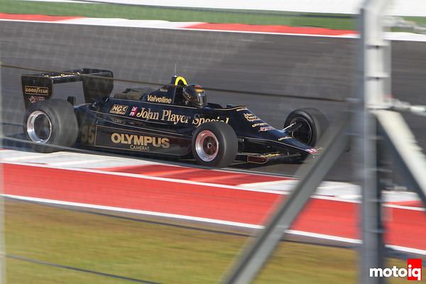 Mario Andretti John Player Special F1 GP car USGP united states grand prix