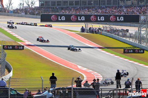 USGP United States Grand Prix 2012 Turn 1 Turn 18 hospitality view