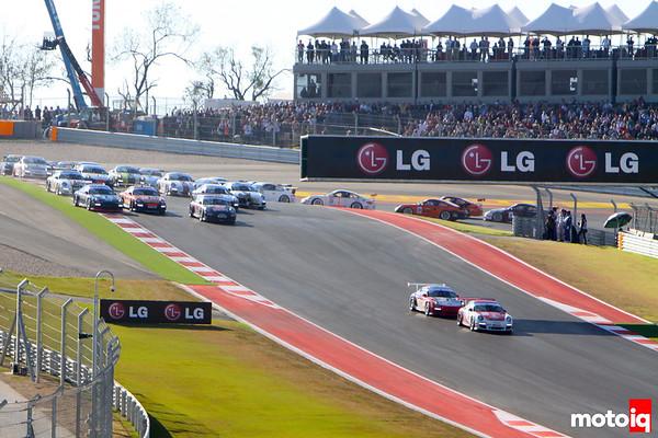 Porsche GT3 Cup USGP united states grand prix